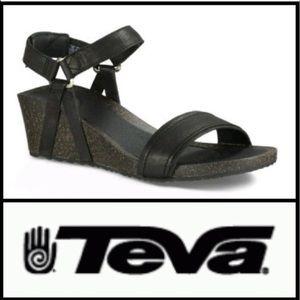 fce2c0a14b40 Teva Shoes - Teva Ysidro Universal Wedge Sandals Size 8